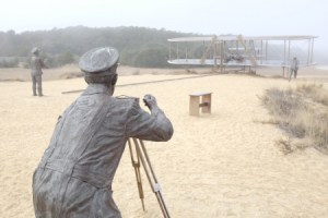 Wright Brothers man with camera