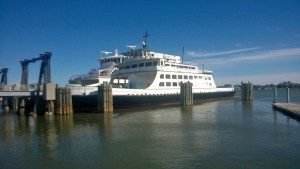 M/V Silver Lake ferry safely in harbor. Photo by P. Vankevich