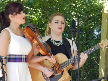 Cassie & Maggie McDonald Ocrafolk Festival 2014. Photo by P. Vankevich