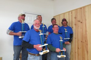 The Delaware Mobile Surf Fishermen are the winners of the OISFT.