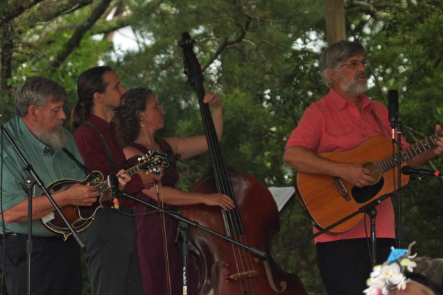 Molasses Creek performing at the 2015 Orcafolk Festival. Photo by P. Vankevich