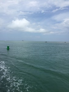 Hatteras Inlet as of Aug. 1