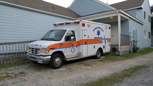 Ocracoke EMS ambulance. Photo by P. Vankevich