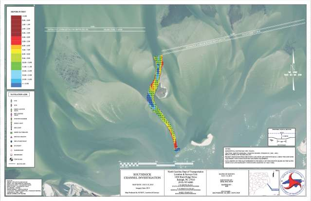 hatteras inlet recon survey