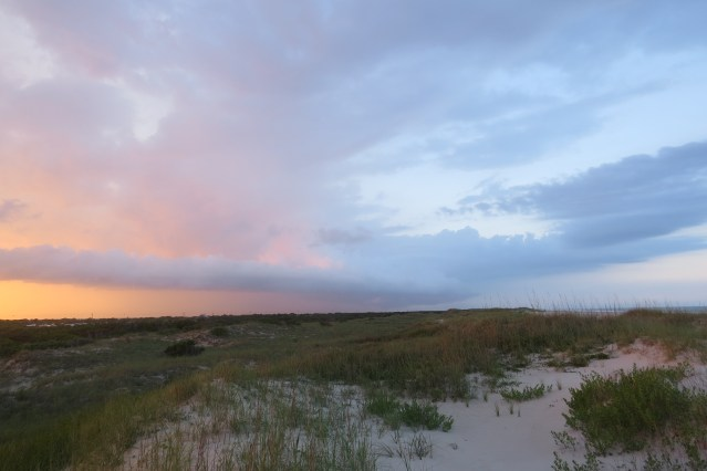 The Ocracoke Beach is part of the Cape Hatteras National Seashore, a national park. Photo by C. Leinbach