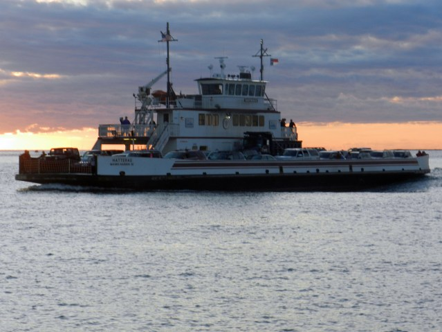 Hatteras ferry. Photo by P. Vankevich