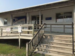 The Ocracoke post office will be locked from Sunday at 3 until Tuesday at 9 for floor refinishing.