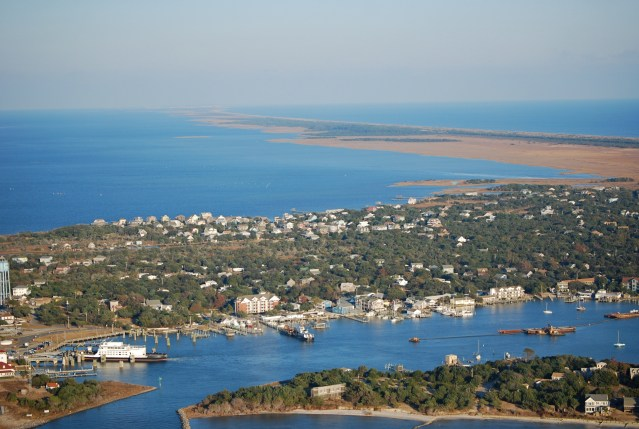 Ocracoke by air 2012