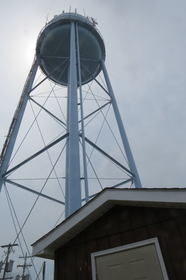 Built in 1976, the Ocracoke water tower will need to be replaced in five to eight years.