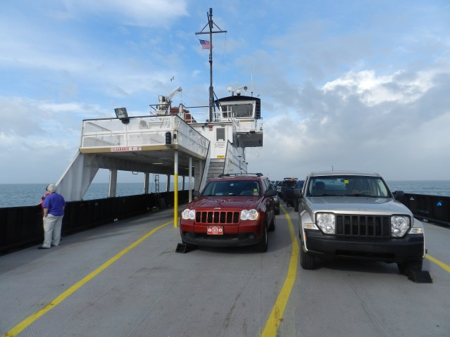 Hatteras-Ocracoke ferry. Photo by P. Vankevich