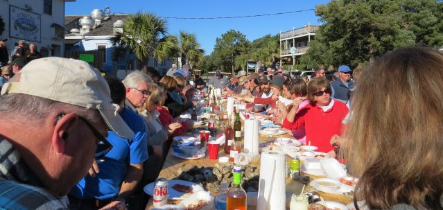 The Tenth Annual Oyster Roast will be held from 2 to 5 p.m. Wednesday, Dec. 30, at the Ocracoke Seafood Company. Photo by C. Leinbach