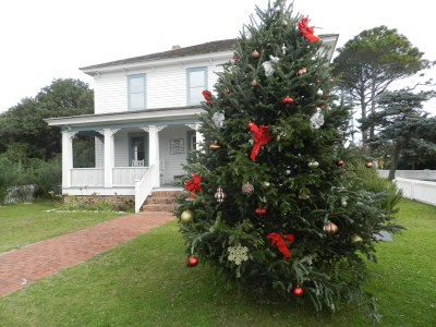 The Ocracoke Preservation Society has the community Christmas tree.