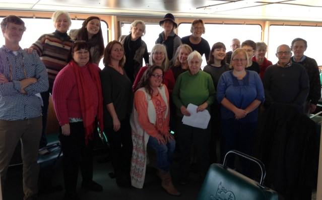 Islanders on Monday travel to Swan Quarter to visit with legislators about ferry tolling. Photo by M. Baker