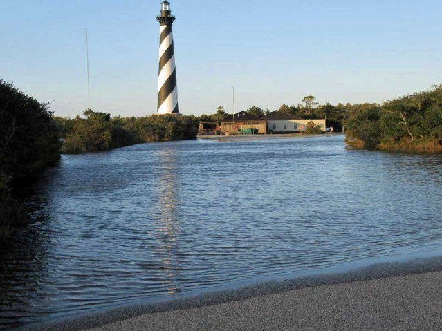 Cape Hatteras Lighthouse . Photo from National Park Service.