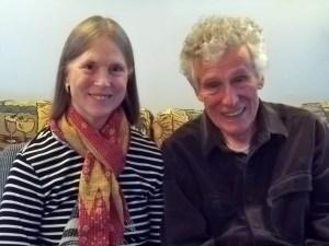 Diana Bigelow and Jim Stapleton