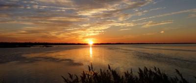Lake Mattamuskeet on mainland Hyde County. Photo courtesy of Coastal Review Online