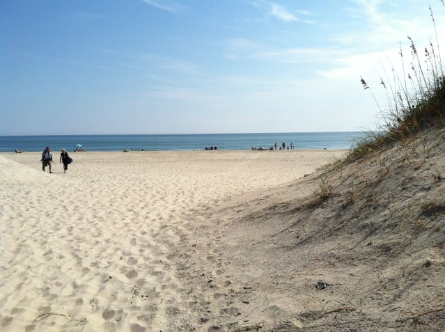 Ocracoke beaches are in the running for Best Beach in America by Coastal Living Magazine. Photo by C. Leinbach