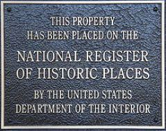 The Community Square is listed under The National Register of Historic Places.