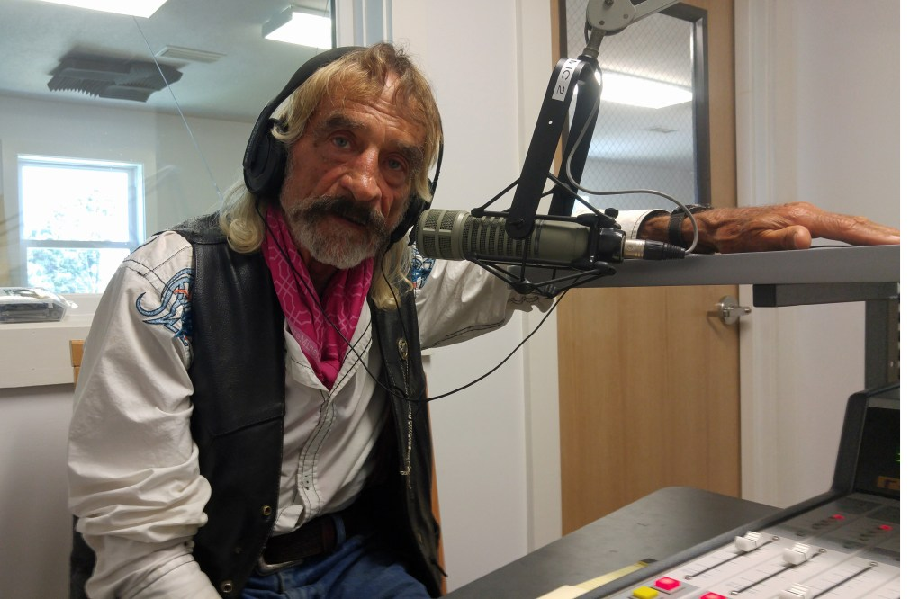 Doc Mishler is interviewed on WOVV, Ocracoke Village Voice