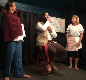 """Blackbeard: An Historical (Hyseterical) Account"" is a comedy performed Monday nights at 7:30 in Deepwater Theater."