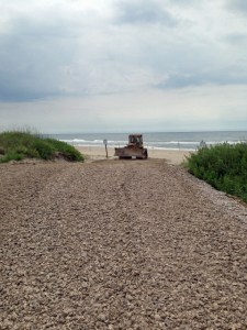 Ramp 63 on Ocracoke. Photo courtesy of National Park Service