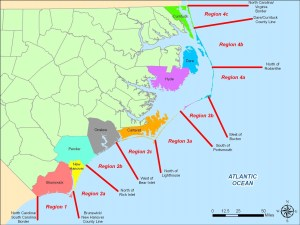 beach inlet regions