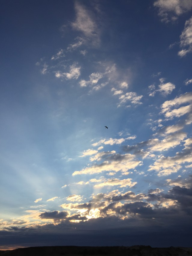 Ocracoke sky. Photo: C. Leinbach