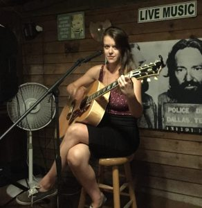Kate McNally plays frequently on the island. Photo: C. Leinbach
