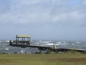 The Stormy Pamlico Sound. Photo: Ann Warner