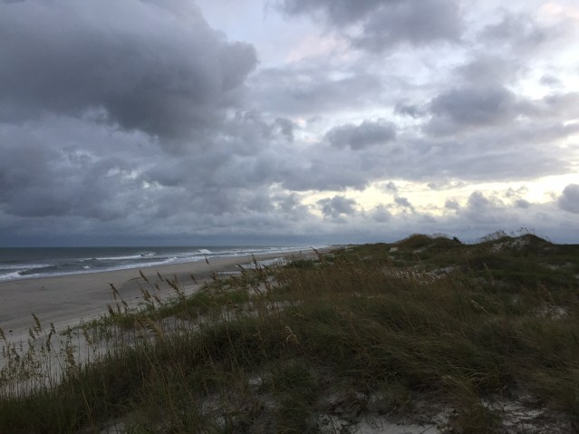 The Ocracoke Beach awaits visitors. Photo: C. Leinbach