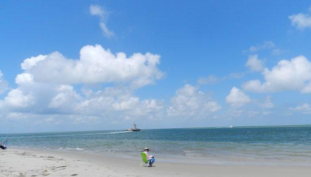 North end of Ocracoke Island. Photo: C. Leinbach
