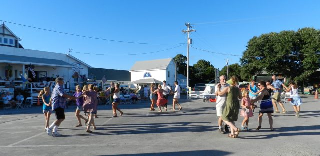 Community Square is a great place for square dancing. Photo: C. Leinbach