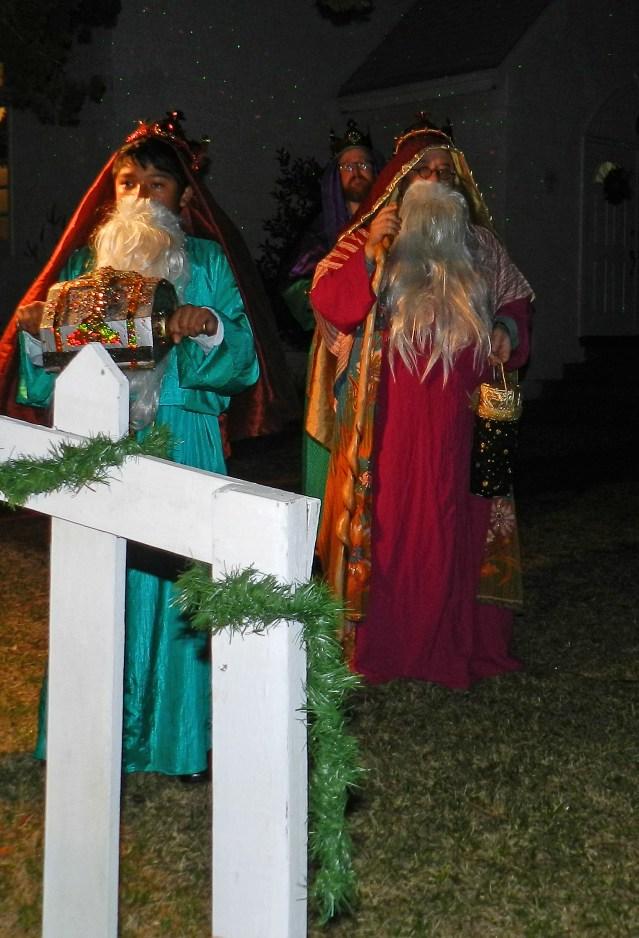 The Wise Men are Jackson Worthy, Richard Bryant and John Worthy.