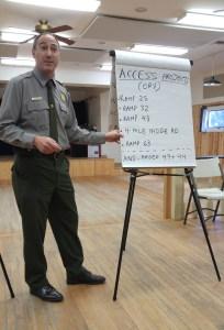 Cape Hatteras National Seashore Superintendent David Hallac