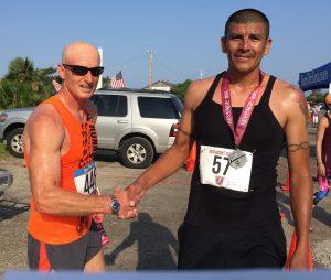 5K/10K race on Ocracoke, NC