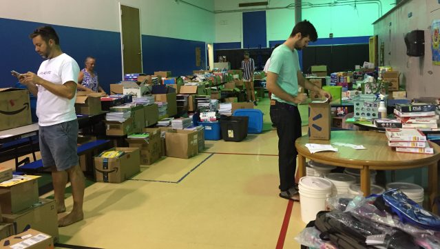 Pack a Backpack school supply campaign on Ocracoke NC