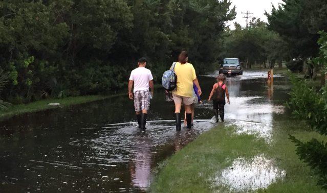 Ocracoke NC Hurricane Maria
