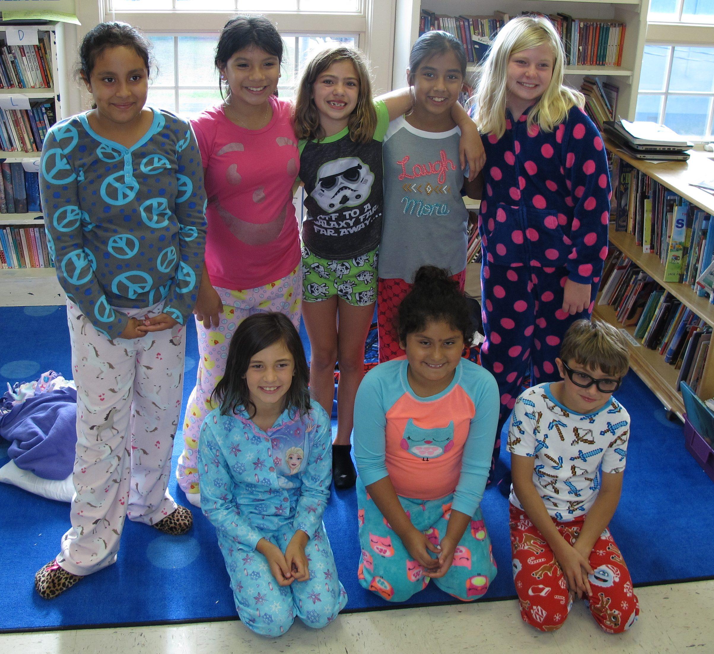 Ocracoke School Pajama Day 4th Grade Oct 16 1 1