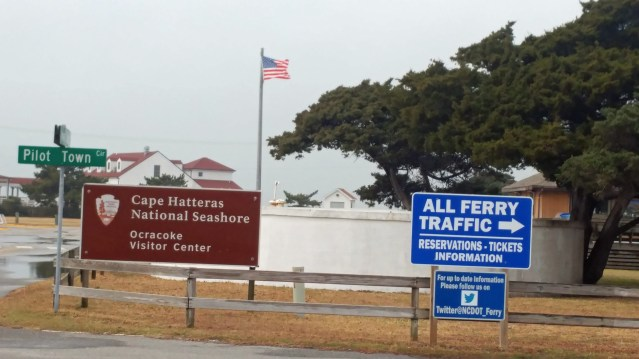 NPS Visitors Center, Ocracoke, NC.