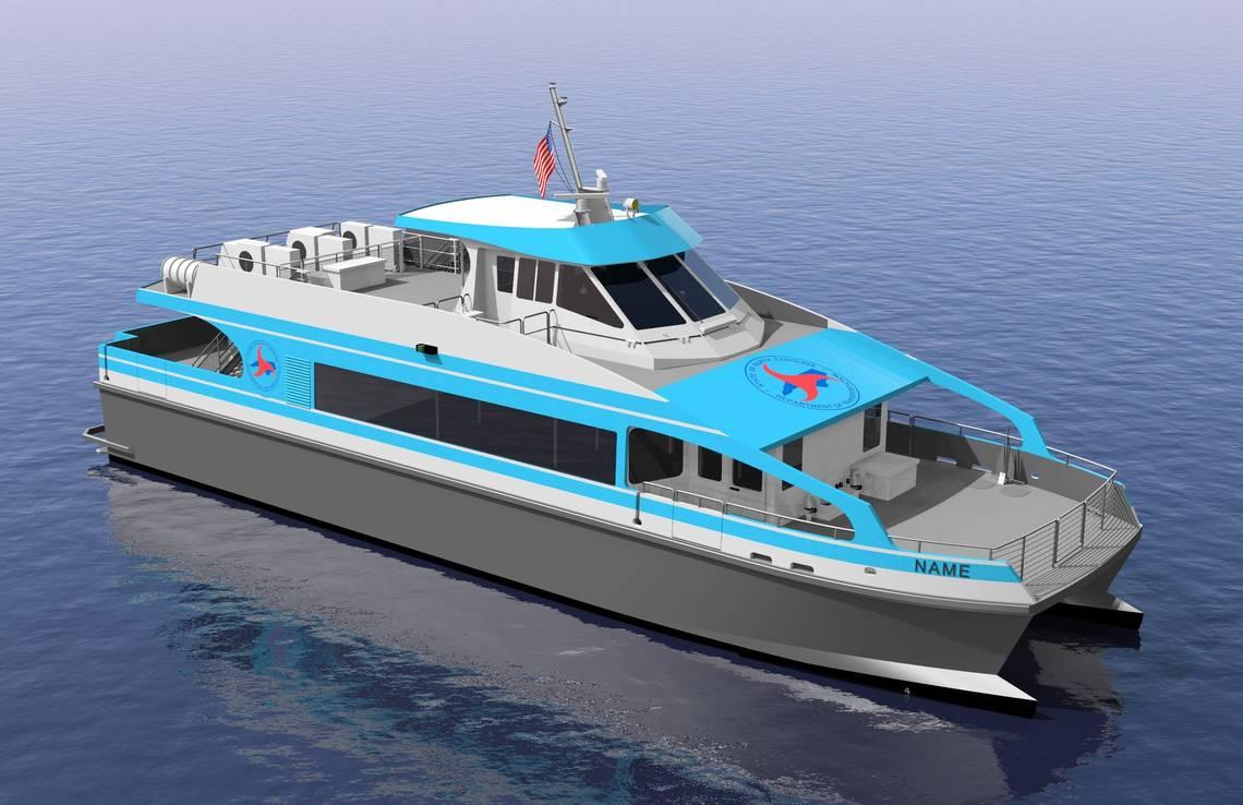 Passenger ferry on hold again