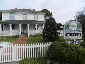The Ocracoke Preservation Society museum, Ocracoke. Photo: C. Leinbach
