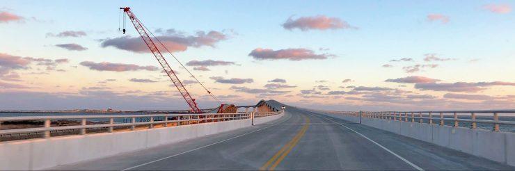 Marc Basnight Bridge Outer Banks, NC. Photo: C. Leinbach