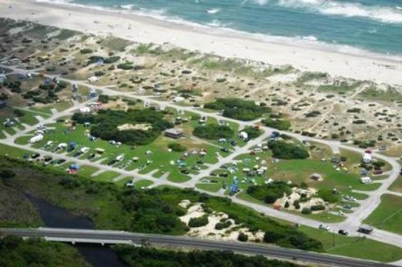 The NPS Campground on Ocracoke NC will stay open all year, the Cape Hatteras National Seashore said today in a press release.
