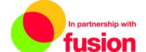 In Partnership with Fusion Logo