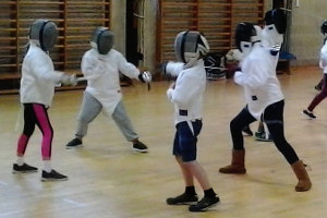 Image: Junior fencing