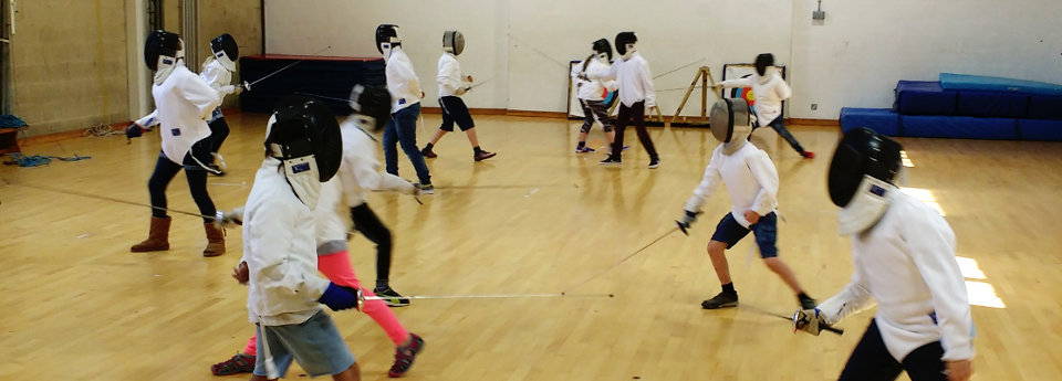 OCRA fencing archery day