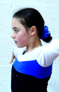 Image: OCRA Gym Club - Girls hair scrunchie (blue)
