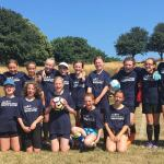 Team West Devon 2018 Girls football
