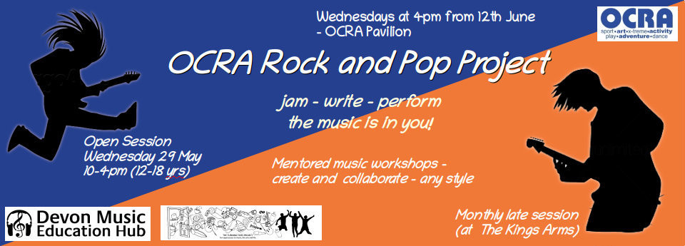 Image: OCRA Rock and Pop Music Project