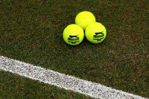 Image: Aegon open tennis balls